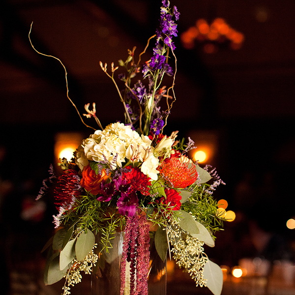 gorgeous fall wedding flower centerpices ideas 2013