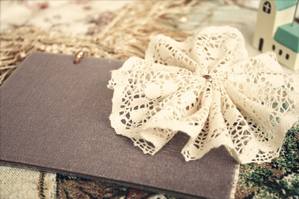 ivory and brown vintage lace wedding invitations for country rustic weddings 2014