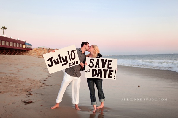 perfect to save the date for beach weddings