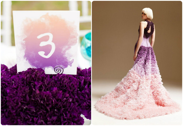 Ombre weddings new wedding trends for and