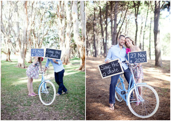 Rustic Chalkboard Sweet Save The Date Ideas