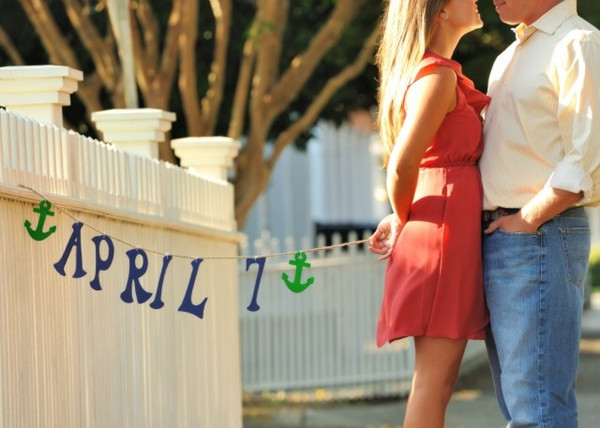 sweet save the date ideas for beach nautical weddings