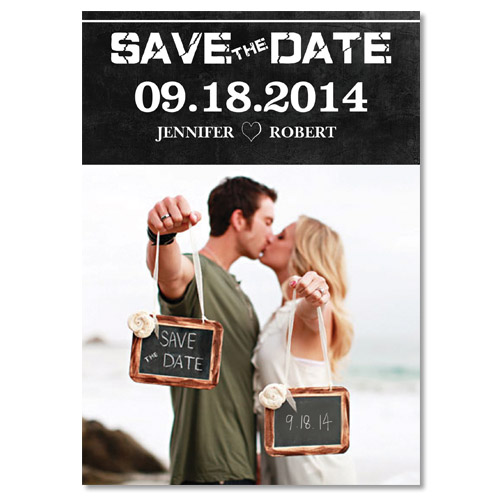 Unique Photo Save The Date Cards For 2014 Beach Weddings