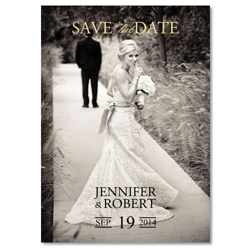 Vintage Photo Save The Date Cards For 2017 Lace Weddings