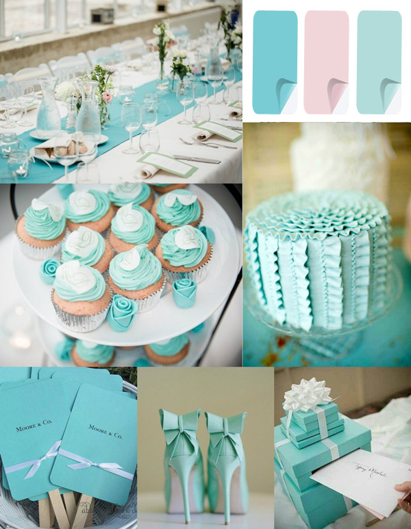 Clic Tiffany Blue Inspired Wedding Color Ideas For 2017 Trends