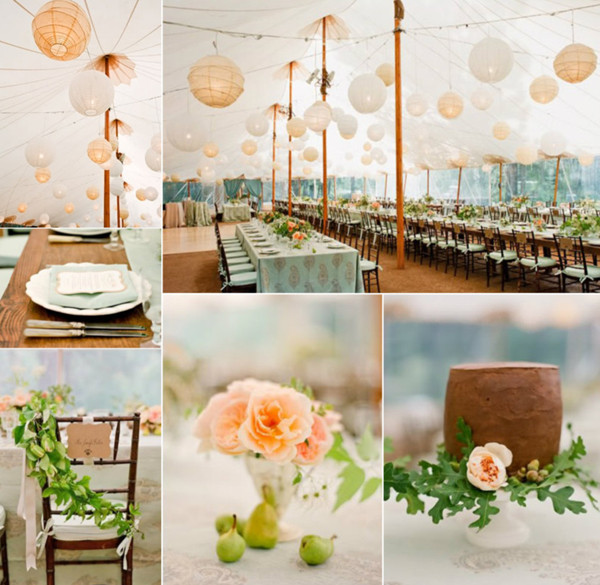 fabulous white and blush tent inspired outdoor wedding ideas for 2013 and 2014 & 8 Perfect Outdoor Wedding Venue Ideas 2013 and 2014 ...