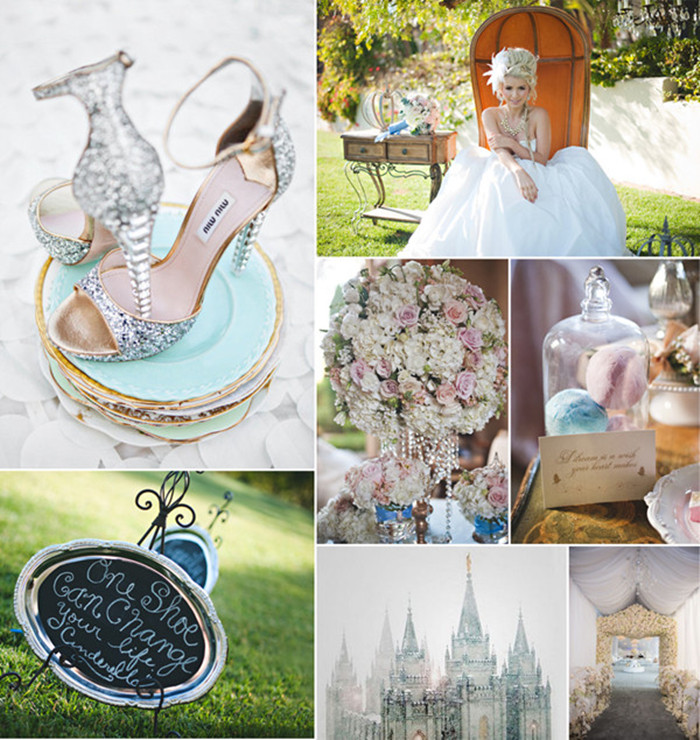 Cinderella Wedding: Disney Princess Inspired Fairy Tale Wedding Ideas-Be Your