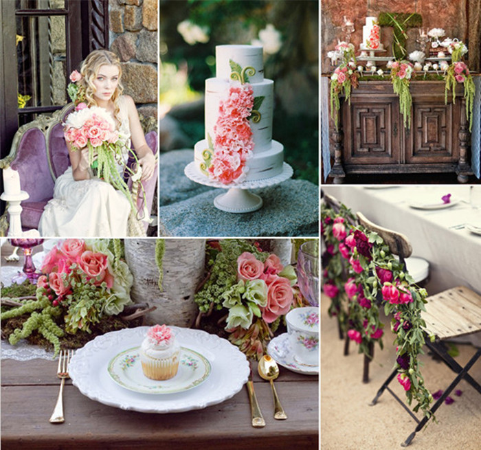 fairy tale garden wedding ideas inspired by princess rapunzel