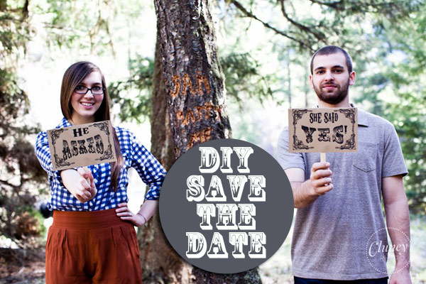 Unique Diy Save The Date Ideas