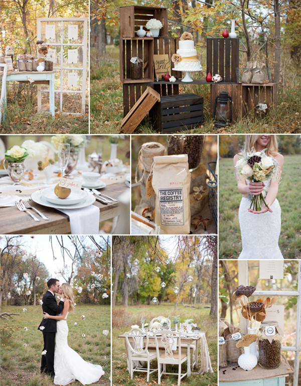 Top 8 trending wedding theme ideas 2014 elegantweddinginvites ethereal neutral coffee and cotton wedding theme ideas 2014 junglespirit Choice Image