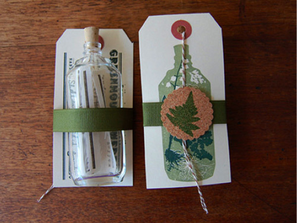 message in a bottle save the date ideas