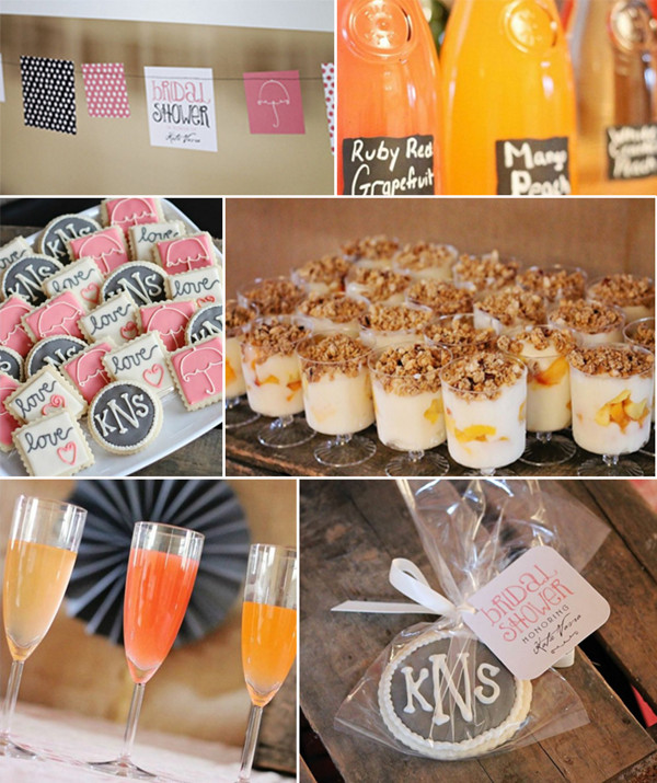 rustic and elegant bridal shower brunch ideas 2013 2014