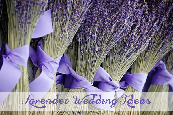 lavender inspired wedding color ideas