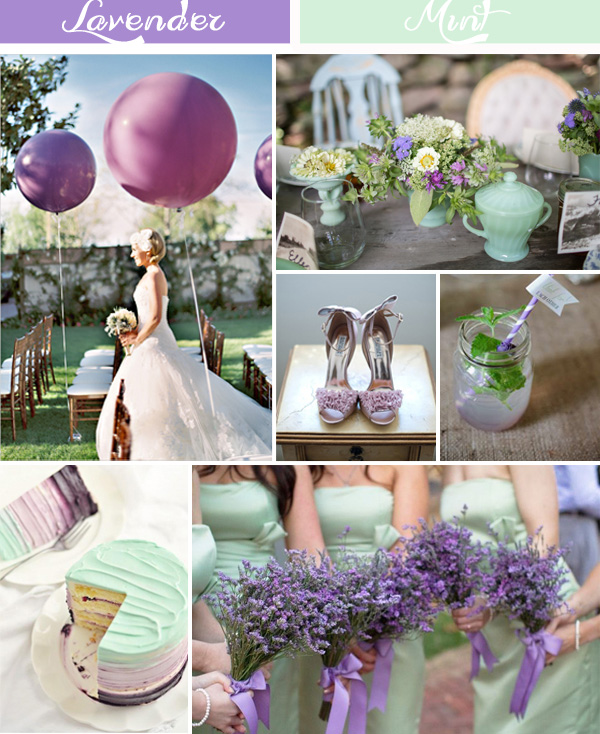 Ideas For Wedding Colors: Lavender Inspired Wedding Color Ideas And Wedding