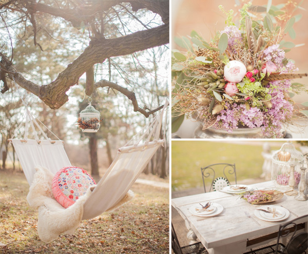 Floral Arrangements Inspired Boho Theme Wedding Ideas And Wedding