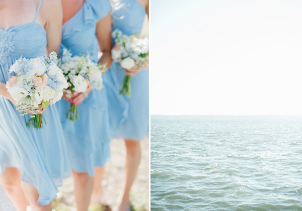 pale blue bridesmaid dresses for beach theme weddings 2014