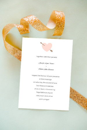 valentine inspired heart wedding invitation cards 2014
