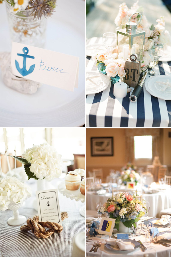 wedding centerpieces table decorations for beach theme weddings 2014