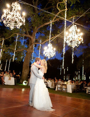2014 trending wedding reception ideas with Chandelier for outdoor weddings