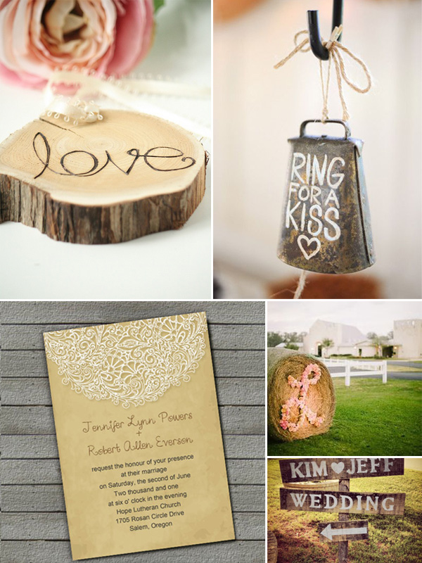 Top 10 Rustic Wedding Invitations and Ideas at Elegantweddinginvites ...