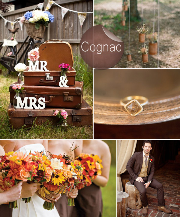 Wedding Ideas By Colour: Top 10 Pantone Fall Wedding Colors 2014 Trends