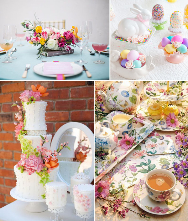 Pastel Easter Themed Bridal Shower Party Decoration Ideas And Cakes