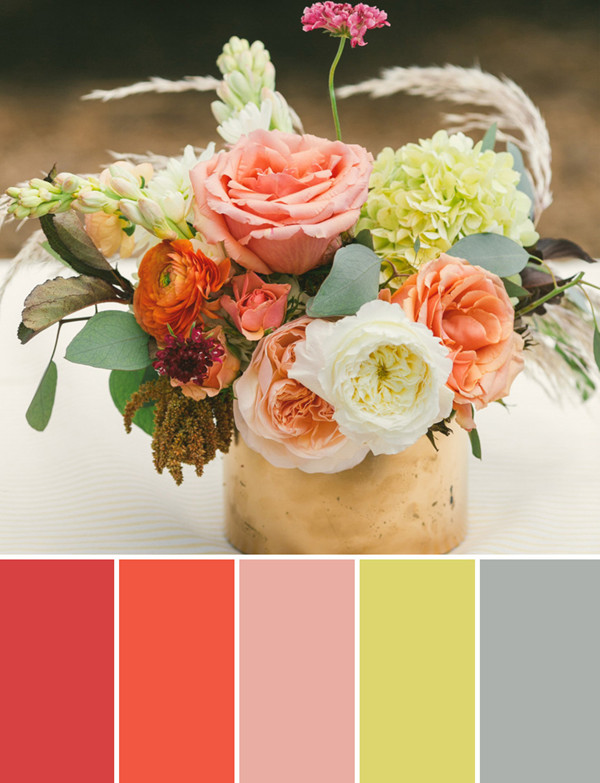 country rustic fall wedding centerpieces flower ideas 2014