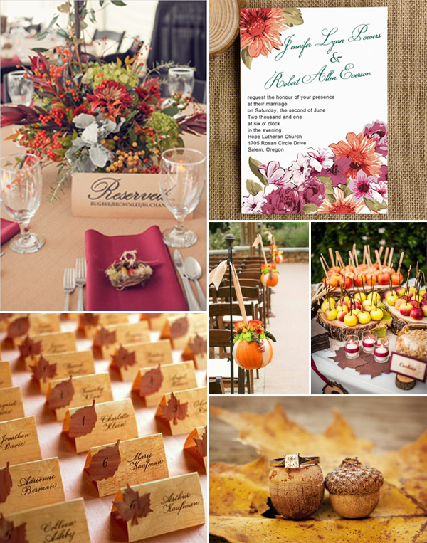 country rustic fall wedding ideas 2014 trends