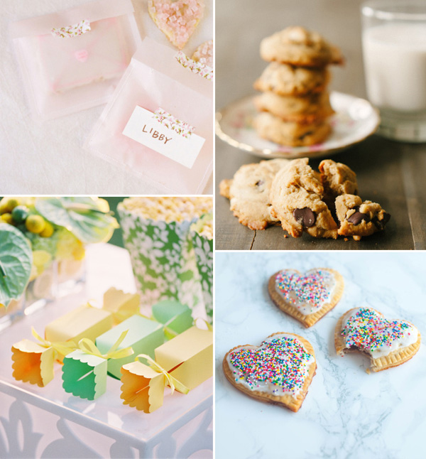sweet deserts for fall wedding favors 2014