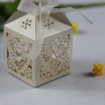 Laser Cut Favor Boxes