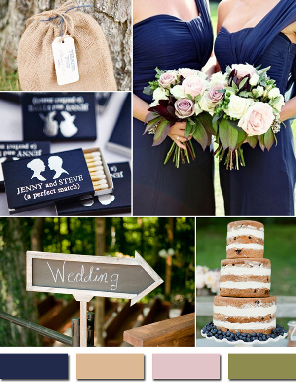 Beautiful Rustic Wedding Color Schemes Photos - Styles & Ideas ...