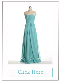 Shirred Strapless Blue A-line Bridesmaid Dress