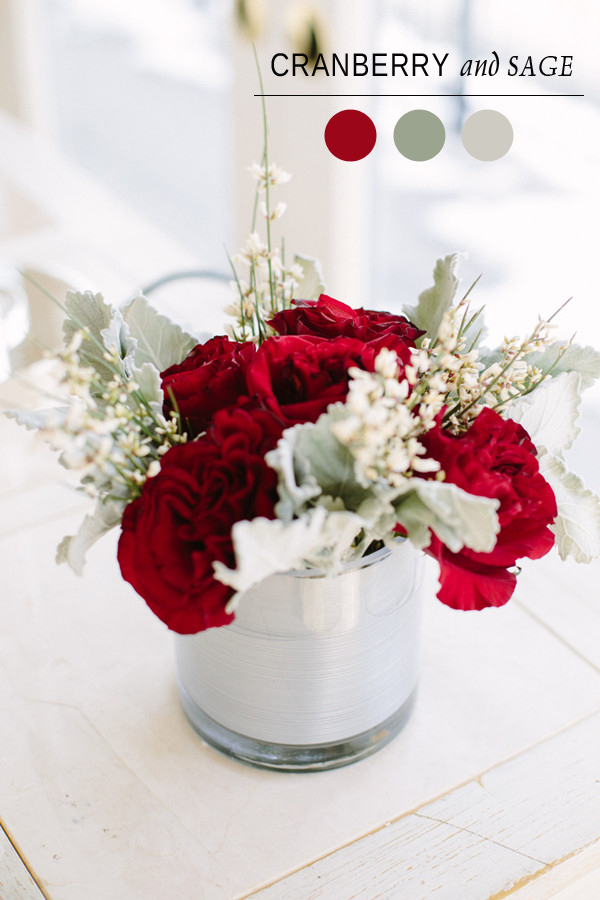 cranberry and sage wedding shower color palettes for bridal shower ideas 2014