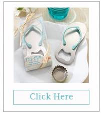 flip flop shaped bottle opener wedding favors for beach wedding ideas