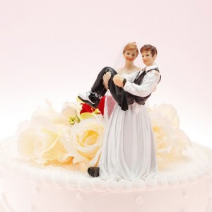 funny wedding cake topper 2015
