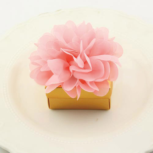 Gold Blush Favor Boxes