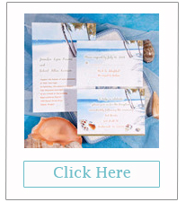 unique seaside inspird beach wedding invitations