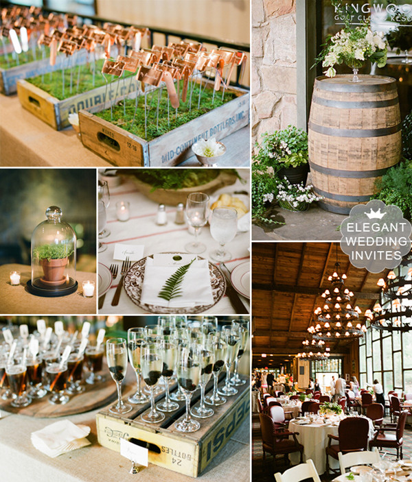 Country Club Rustic Outdoor Wedding Ideas 2017 Trends