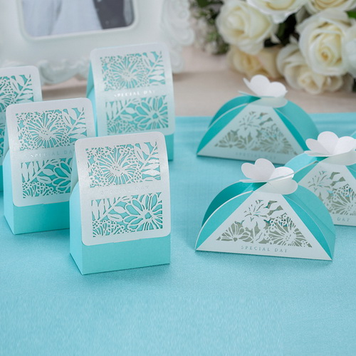 Tiffany Blue Favor Boxes