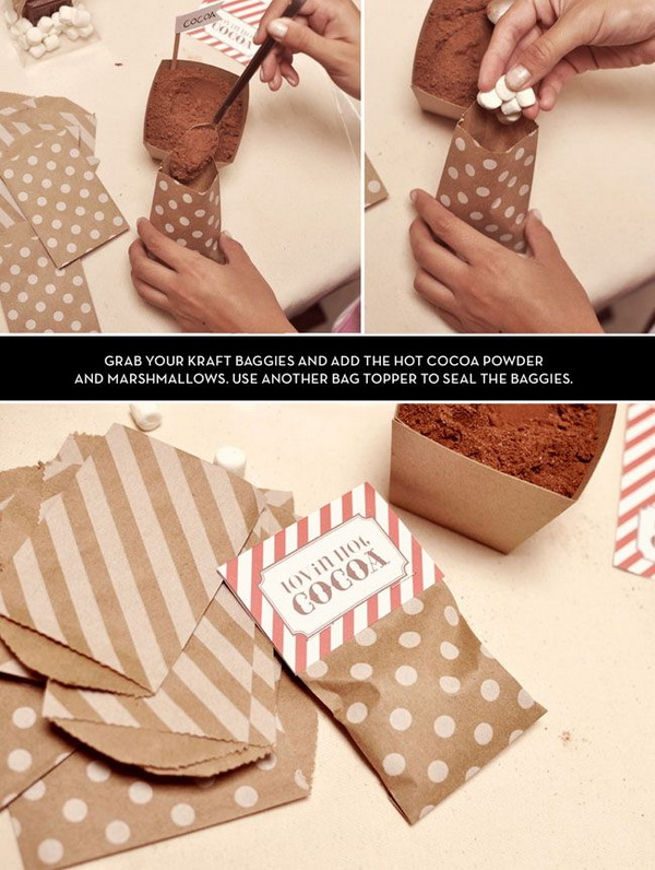 Winter Wedding Inspiration For Favor Boxes And Bags