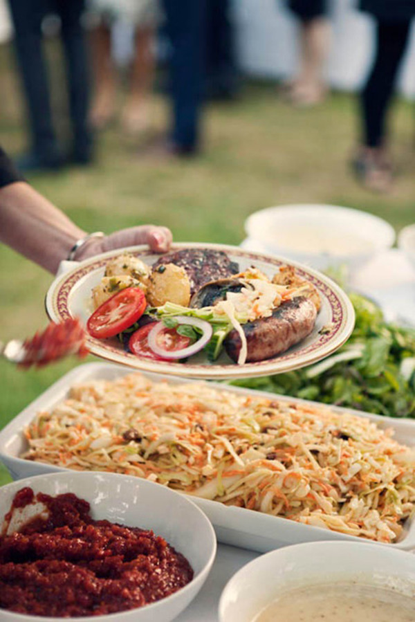 bbq food for outdoor intimate wedding ideas 2015 trends
