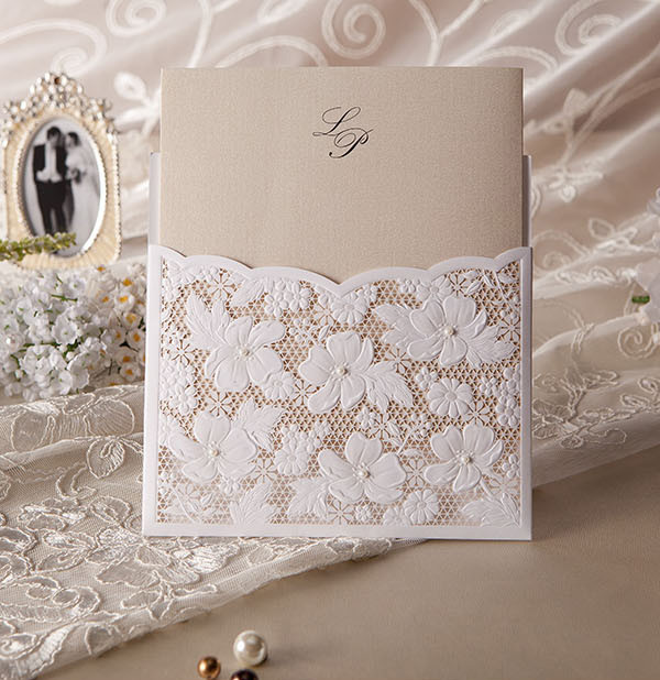 Top 10 Laser Cute Elegant Wedding Invitations ...