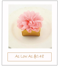 floral rustic elegant gold and peach wedding favor boxes
