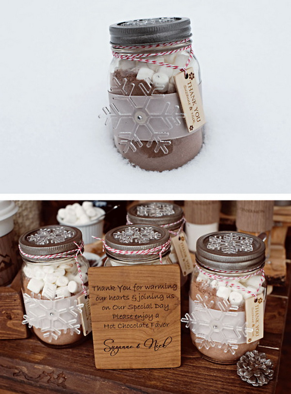 Top 10 Inspirational Quirky Ideas For Winter Wedding Favors