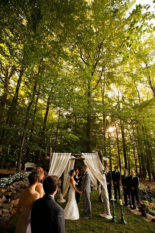Rustic Intimate Wedding Ideas For 2017 Trends In The Forest