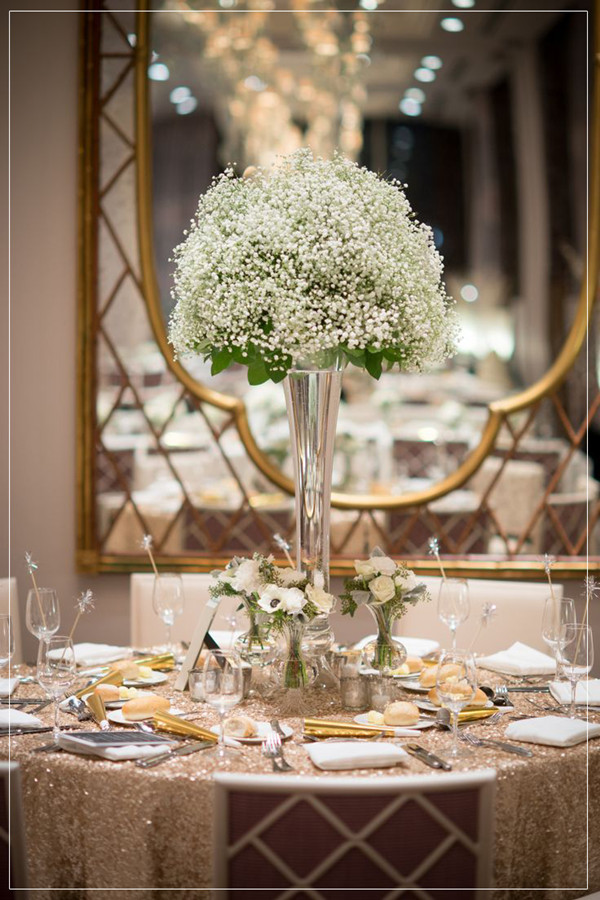 Elegant Modern Reception Ideas For Courthouse Small Weddings