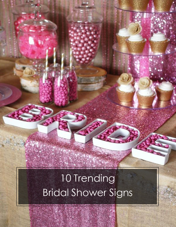 10 Trending Bridal Shower Signs Ideas to Choose from ...
