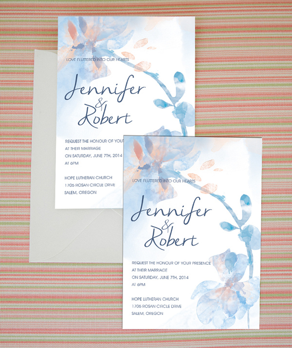 Trending Wedding Invitations: Top 10 Watercolor Wedding Invitations Of 2015 Trends