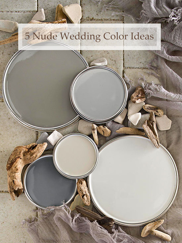 5 great nude wedding color ideas  2015 trends