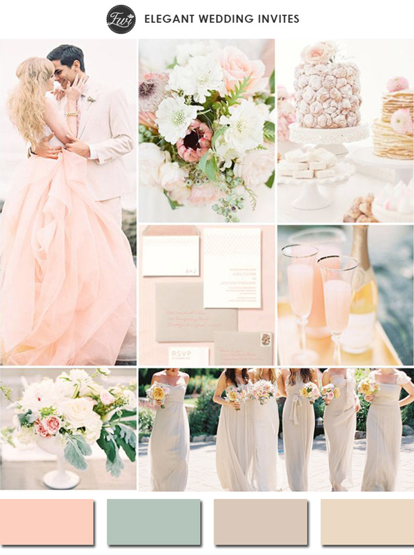 5 Trending Nude Wedding Color Ideas for Your Big Day ...